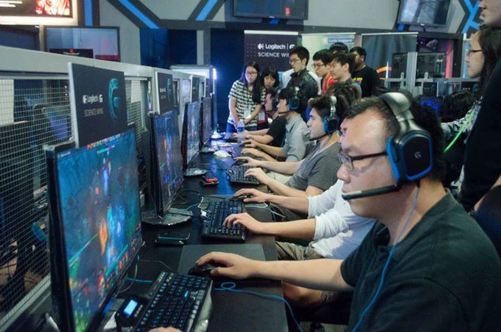 Một cuộc thi Games tại Đại học Curtin Singapore