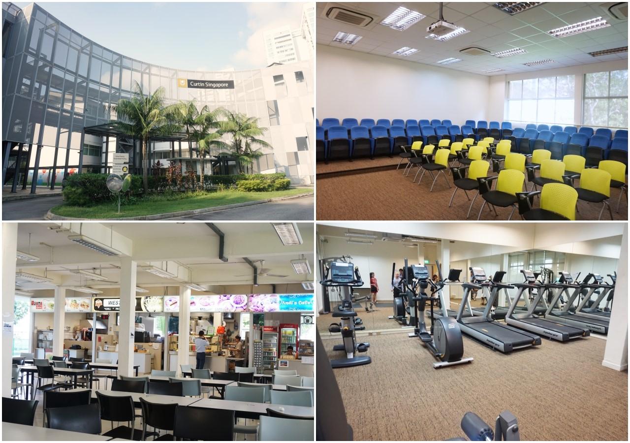 Cơ sở vật chất Đại học Curtin Singapore
