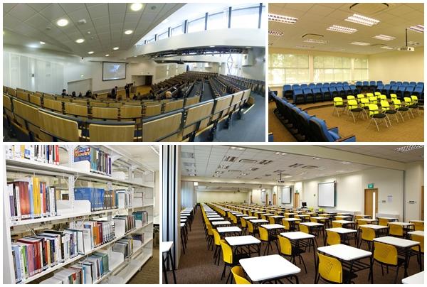 Cơ sở vật chất hiện đại của Đại học Curtin Singapore